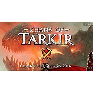 MTG Magic the Gathering KHANS OF TARKIR KTK Prerelease Kits ALL 5 SET - 30 booster packs + foils!