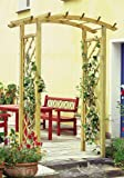 NEW! DARIA ARCH trellis arbor tall for flowers wooden
