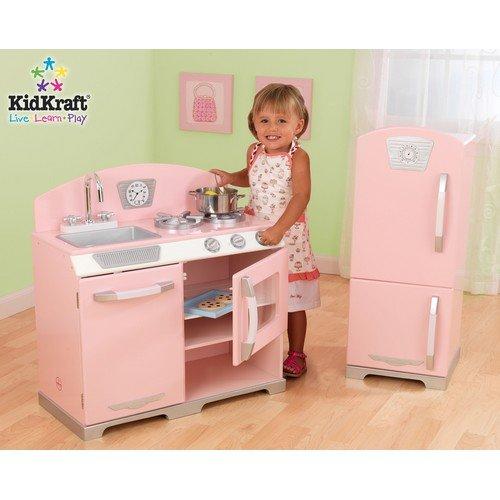 Kidkraft Pink Kitchen: Buy Cheap KidKraft Pink Retro Kitchen