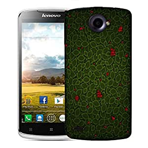Snoogg Leaves With Berry Designer Protective Phone Back Case Cover For Lenovo S920