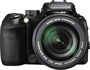 Fujifilm FinePix S100fs Digital Camera - Black (11.0MP, 14.3x Fujifilm non Manual Zoom Lens) 2.5 inch Tilting LCD