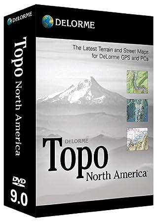Topo North America 9.0
