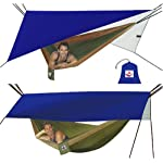Hammock Bliss All Purpose Waterproof Shelter – Stay Dry In Your Hammock In Rainy Conditions, Block Out The Sun Or Protect Your Gear From The Elements