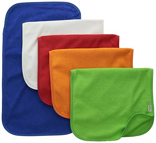 green sprouts Stay-Dry Burp Pads (5 Count)