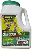 Nature's Mace 5 Lb Granular Deer & Rabbit Repellent, 5,000 Sq Ft - University Studies Prove Our Technology Works Best!
