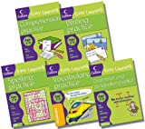 Harper Collins Collins Easy Learning Age 7-9 English Collection - 5 Books RRP £19.95 (Spelling Age 7-9; Vocabulary Practice Age 7-9; Writing Age 7-9; Grammar and Punctuation Age 7-9; Comprehension Age 7-9)