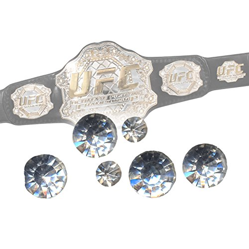 REPLACEMENT JEWELS for UFC World Championship Adult Size Replica Belt (Ufc Toy Belt compare prices)
