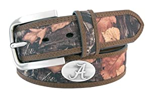 NCAA Alabama Crimson Tide Fencerow Nylon Concho Belt by ZEP-PRO