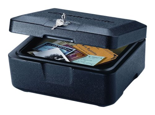 SentrySafe 500 FIRE-SAFE Box, 0.16 Cubic Feet, Black (Safety Boxes Fireproof compare prices)