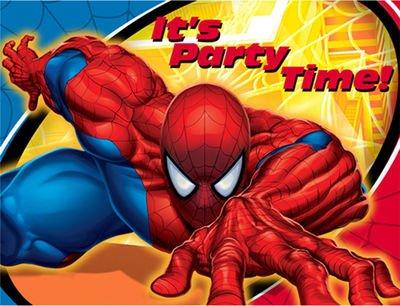 Hallmark 160850 Spider Sense Invitations