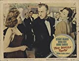 """The Private: Whole Truth 1958 Authentic 11"""" x 14"""" Original Lobby Card George Sanders Film Noir"""