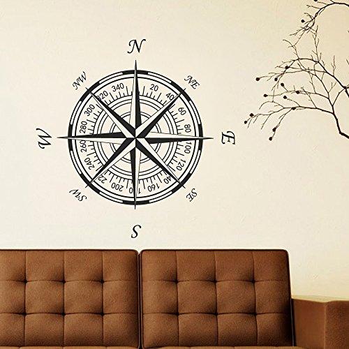 boussole-rose-vinyle-mur-ou-plafond-en-nautical-boussole-rose-stickers-muraux-sticker-mural-en-vinyl