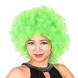 DAYAN Navidad Disfraz COSPLAY christmas decorations peluca Fanáticos del fútbol no iluminado color verde