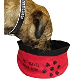Coolcase Collapsible Pet Travel Water Food Bowl
