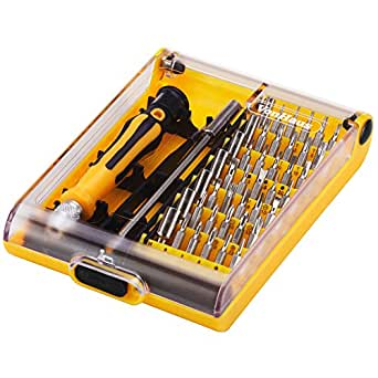 vonhaus 45 piece precision screwdriver tool bit set with screwdriver extensio. Black Bedroom Furniture Sets. Home Design Ideas