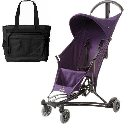 quinny yezz lightweight stroller with diaper bag purple rush all travel bag. Black Bedroom Furniture Sets. Home Design Ideas