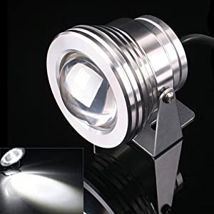 10W LED Flutlicht Fluter Strahler Licht Kaltweiß Scheinwerfer DC12V 224021