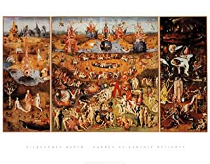 The Garden Of Earthly Delights 1504 Fine Art Poster Print By Hieronymus Bosch