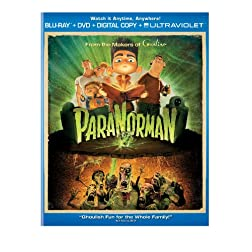 ParaNorman (Two-Disc Combo Pack: Blu-ray + DVD + Digital Copy + UltraViolet)