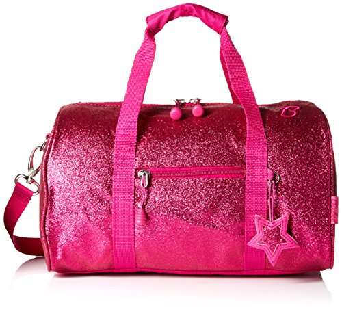 bixbee-sparklicious-glitter-duffle-bag-medium-ruby-raspberry
