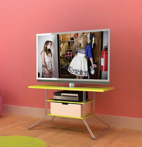 Cheap Flat Panel LCD TV Stand with Double Rod Frame and Lime Shelves (AZ00-49044×21169)