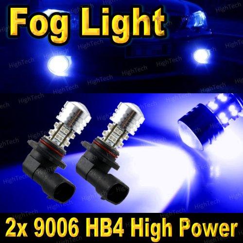 2 Pcs Ultra Blue 9006 / 9012 / Hb4 20-Smd High Power Led Headlight Bulbs For Driving Fog Light / Day Time Running Light Drl