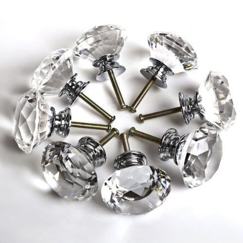 16x-40mm-clear-crystal-glass-door-knobs-diamond-drawer-cabinet-furniture-kitchen-by-ahg