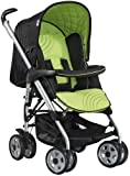 Hauck condor pushchair buggy pram in lime/black