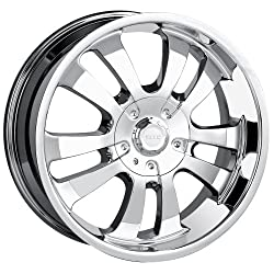 20×8.5 DIP D10 (Chrome) Wheels/Rims 5×127/135 (D10-2853C)