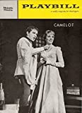 "Julie Andrews ""CAMELOT"" Richard Burton / Lerner & Loewe 1961 Broadway Playbill"