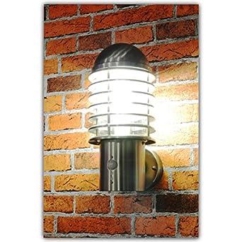 aussenleuchte aussenlampe wandleuchte edelstahl eingangsleuchte lampe leuchte 252 wandleuchte. Black Bedroom Furniture Sets. Home Design Ideas