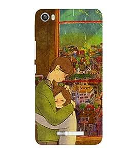 EPICCASE monsoon love Mobile Back Case Cover For Lava Iris X8 (Designer Case)