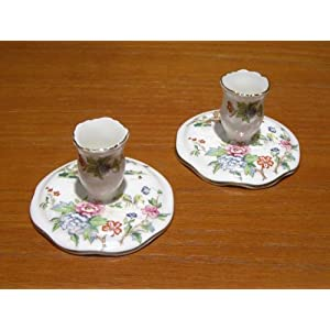 Crown Staffordshire Fine Bone China Cup and Saucer Trinity Rose