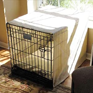 Coolaroo Coolaroo Dog Crate Shade with Pillow, HDPE Fabric, Extra Large