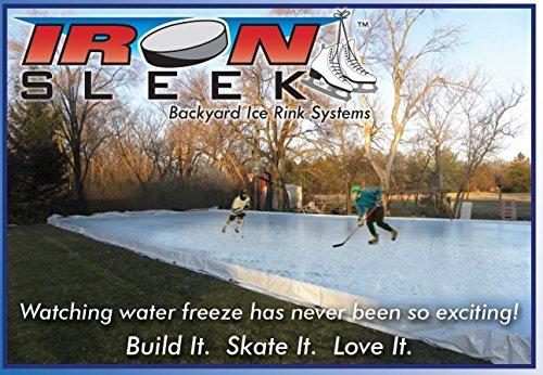 Skating Rink Kit Size: 20' x 46' image