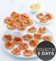 24 Lochmuir™ Oak & Applewood Smoked Salmon Blinis