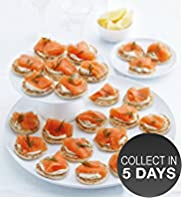 24 Lochmuir&#8482; Oak & Applewood Smoked Salmon Blinis
