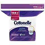 Cottonelle Ultra Comfort Care Flushable Cleansing Cloths Refill, 168 Count