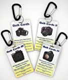 4-Pack DSLR & SLR Cheatsheets. Pocket sized quick reference cards. Complete series for use with Canon Rebel XT XTi XS XSi T1i T2i T3 T3i T4i T5i 6D 7D 10D 20D 30D 40D 50D 60D 60Da 70D 300D 350D 400D 450D 500D 1000D SL1 EOS M 5D 1D 1Ds 1Dx 1v Mark I II III IV MKII MKIII MKIV MK1 MK2 MK3 MK4 T2 K2 A1 AE1 AT1 AV1 EF F1 FTB T90