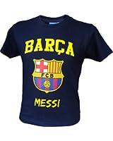 T-shirt Lionel Messi - N°10 - Barça - Collection officielle FC BARCELONE - Taille enfant garçon