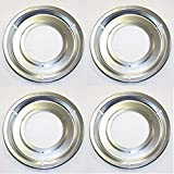 5303131115 (4 PACK) ORIGINAL FACTORY FRIGIDAIRE ELECTROLUX KENMORE SEARS TAPPAN OVEN STOVE DRIP PAN SET OF 4