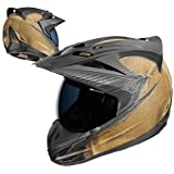 Icon Variant Battlescar Dual Sport Helmet