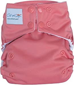 Oh Katy One Size Pocket Diaper, Berry