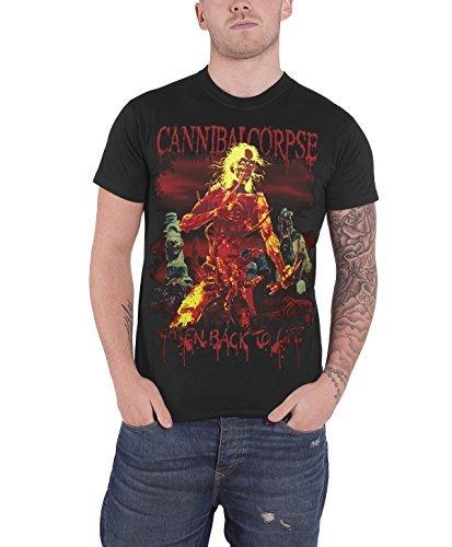Cannibal Corpse - Top - Maniche corte - Uomo nero Large