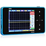 SainSmart NEW Nano ARM DSO Note II Portable Mini Handheld Touch Screen Digital Storage Oscilloscope, 8MB Memory Storage 2MHz 10Mps (New Blue)