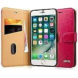 Labato Bookstyle iPhone 7 aus Echt Leder Hülle Tasche für
