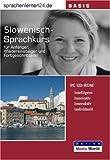 echange, troc Udo Gollub - Sprachenlernen24.de Slowenisch-Basis-Sprachkurs CD-ROM für Windows/Linux/Mac OS X (Livre en allemand)