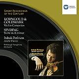 Korngold & Goldmark: Violin Concertos