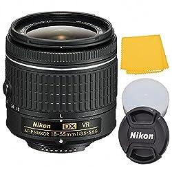 Nikon 18-55mm f/3.5-5.6G VR II AF-S DX NIKKOR Zoom Lens (White Box) for Nikon DX DSLR Cameras D3100, D3200, D3300, D5100, D5200, D5300, D5500, D7000, D7100, D7200... + AUD Lens Pen and Microfiber Cloth Cleaning System