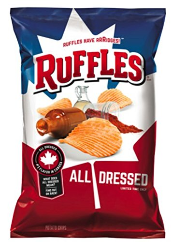 Ruffles All Dressed Potato Chips, 7.75 oz. (1 Bag)